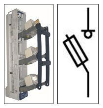 Предохранитель-выключатель-разъединитель Шлюз 2-3П-ШК