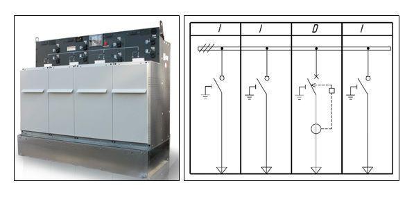 Моноблок RM6-NE-IIDI 630A c реле VIP400