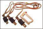 Заземление переносное для электрошкафов ЗПП-1-0/0-16