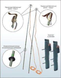 Комплект штанг изолирующих оперативных стеклопластиковых ШО-1ВЛ