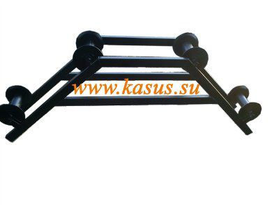 Ролик монтажный (кабельный) угловой горизонтальный РКУ 160-Г