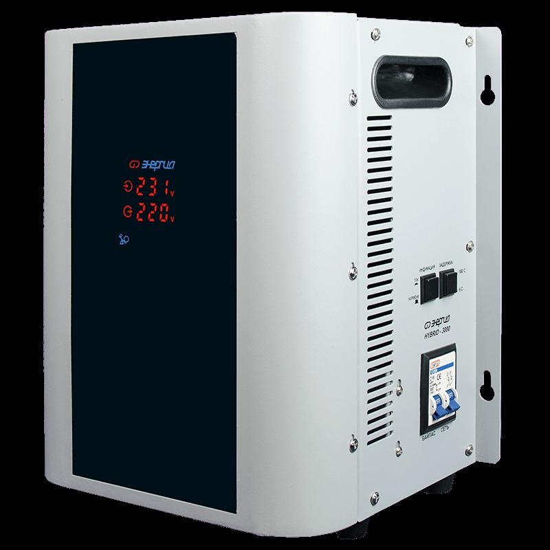 Стабилизатор напряжения Энергия Hybrid-3000(U)