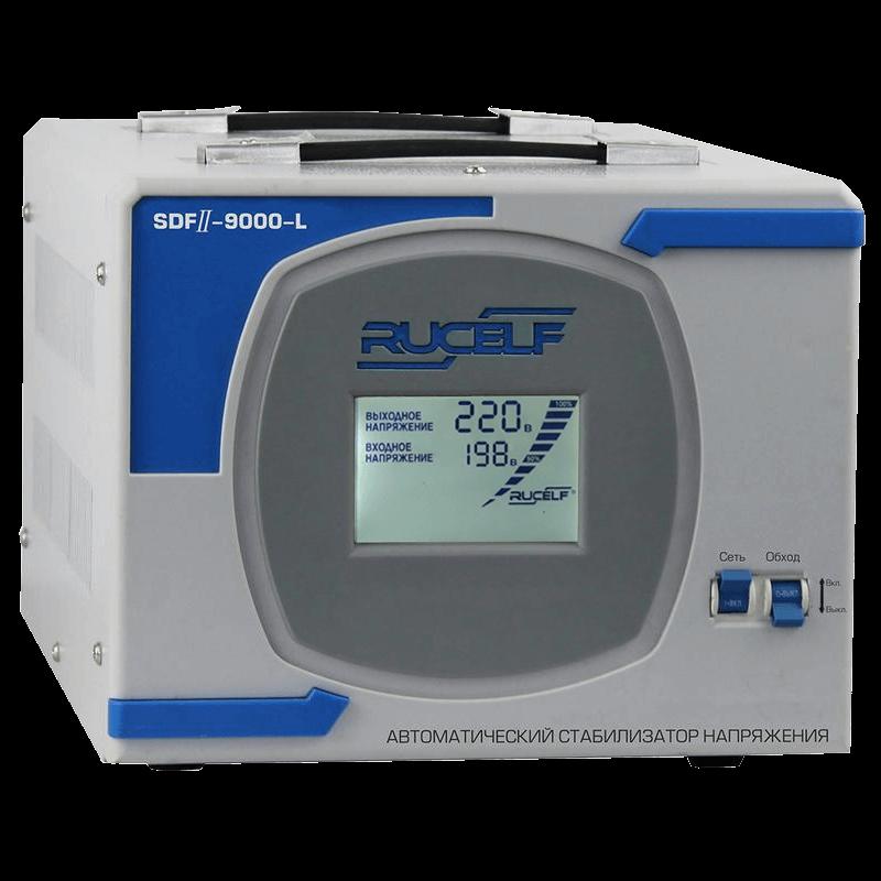 Стабилизатор напряжения Rucelf SDF II-9000-L