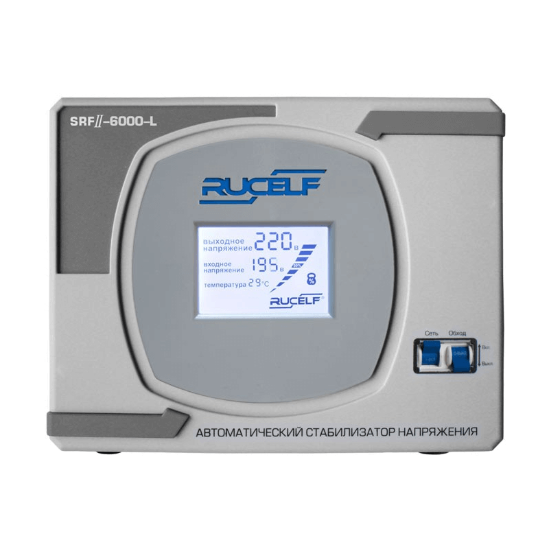 Стабилизатор напряжения Rucelf SRF II-6000-L