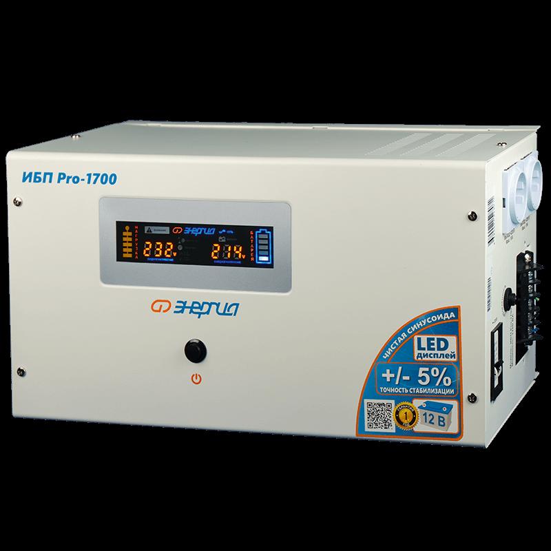 Инвертор Энергия ИБП Pro 1700