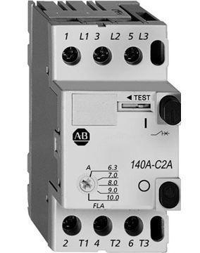 Автомат защиты двигателя 1.6...2.5, 140AC2AB25, Allen Bradley, в наличии