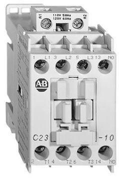 Контактор 11 кВт, 23A,  230V AC, 1NC, 100C23KF10, Allen Bradley, в наличии