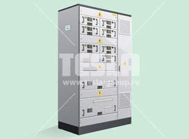 НКУ-TS модульного типа на выдвижных блок
