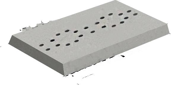 Плиты подкладные НСП 35.10