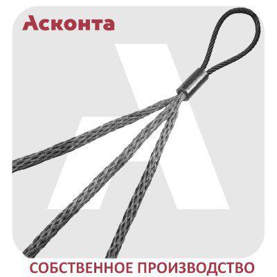 КЧ20/3 Тройной кабельный чулок для 3х кабелей 10-20мм с одной петлей, L=1000мм
