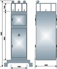 ЯКНО-6(10)-У1В  Приключательный пункт