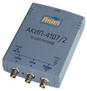 Цифровой запоминающий USB-осциллограф АКИП-4107/2
