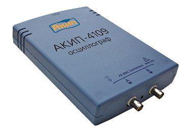 Цифровой запоминающий USB-осциллограф АКИП-4109/1