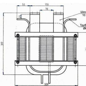 Трансформатор ТВК-35-УХЛ4 для контактной сварки