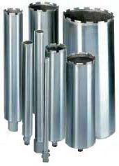 Алмазные кольцевые сверла (коронки) d.132 мм, L=400 мм