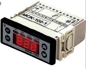 Холодильный контроллер в комплекте с NTC датчиком МСК-102-1