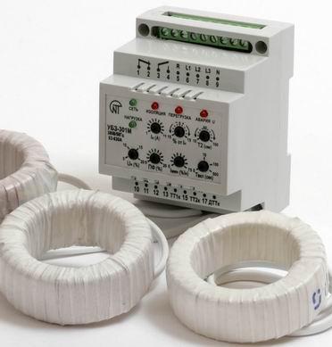 Блок защиты асинхронного электродвигателя УБЗ-301М 10-100А