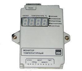 Прибор мониторинга температуры сухих трансформаторов (МТСТ34)