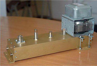 КВП-65/2,45 переход коаксиально-волноводный двойной (Адаптер для магнетрона)