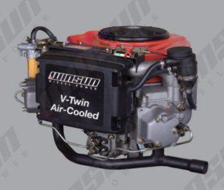 Двухцилиндровый дизельный двигатель R2V870