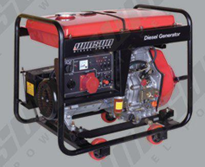 Дизельные генераторы с открытой рамой WS8500