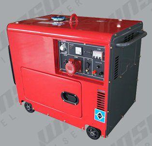 Бесшумные дизельные генераторы WS8500