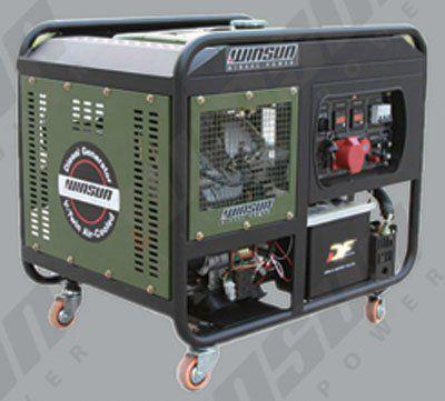 Дизельные генераторы с открытой рамой WS15000
