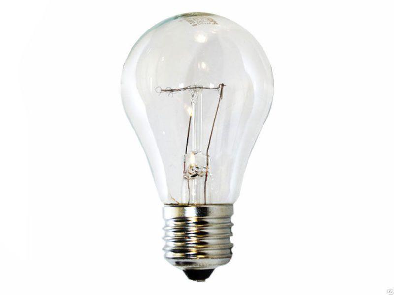 Лампа накаливания ЛОН 95вт Е27 230В колба Россия