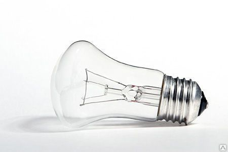 Лампа накаливания ЛОН 95вт Е27 230В грибок Россия