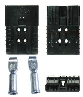 электроразъём SRE 320 для АКБ и ЗУ(к японской технике) Цвета-серый, синий красный, черный, зленый.