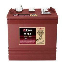Тяговые аккумуляторные батареи TROJAN-Т-125(жидкий электролит)6В 195/240