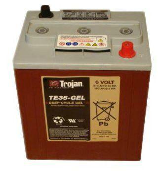 Тяговые аккумуляторные батареи TROJAN-ТЕ-35(жидкий электролит)6В 200/245