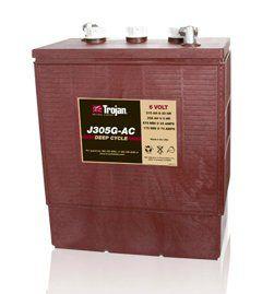 Тяговые аккумуляторные батареи TROJAN-J305G(жидкий электролит)6В 258/315