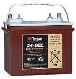Тяговые аккумуляторы батареи TROJAN 24 GEL (гелевые)12В 66/77