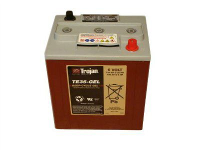 Тяговые аккумуляторы батареи TROJAN TE 35 GEL (гелевые)6В 210/180