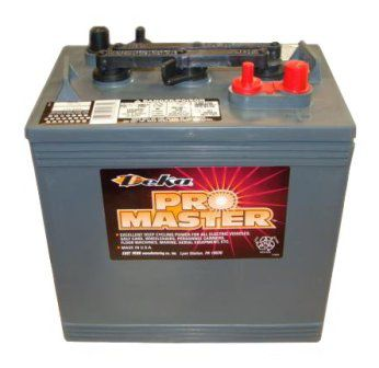 Тяговые аккумуляторные батареи Deka GC25(жидкий электролит) 6В 235/ч