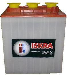 Тяговые аккумуляторные батареи ИСКРА жидкий электролит 6В 200А/ч С5 В 245А/ч