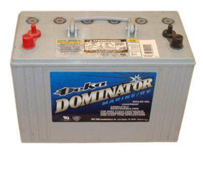Герметизированные тяговые аккумуляторные батареи Deka 8G31 12В 98А/ч GEL
