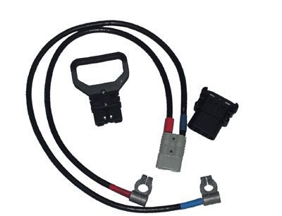 Соединительные провода с наконечниками (пара) 1,5м