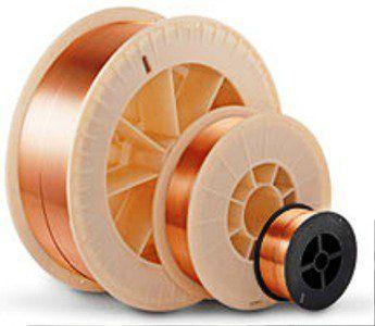 Сварочная проволока стальная омедненная СВ 08 Г2С ф 1,2 мм (5кг) D200