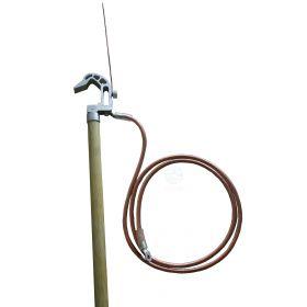 Штанга шунтирующая для электрофицированных желехных дорог типа ШШК-2