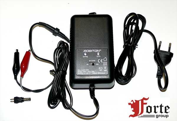 Зарядное устройство для детских электромобилей ROBITON LA612-1500