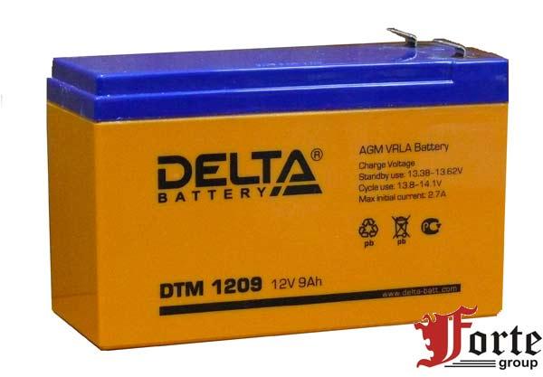 Аккумулятор для ибп (ups) Delta DTM 1209