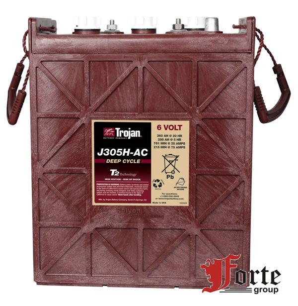 Тяговые аккумуляторы Trojan J305H