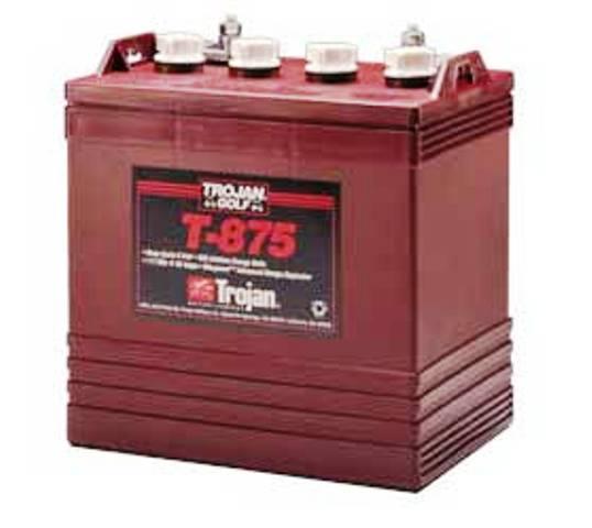 Тяговые аккумуляторы Trojan T875