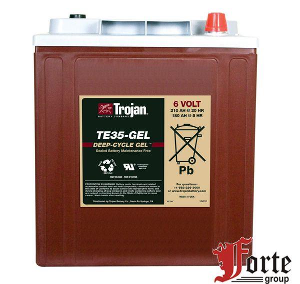 Аккумуляторы тяговые гелевые Trojan TE35-GEL