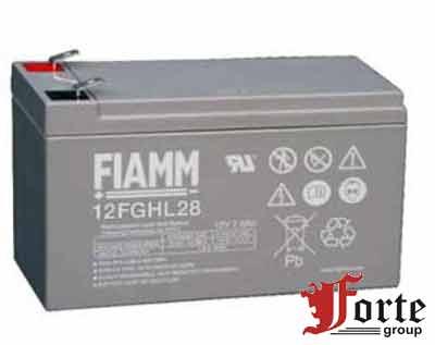 Аккумулятор для ибп (ups) FIAMM 12FGHL28