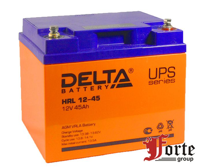 Аккумулятор для ИБП Delta HRL 12-45