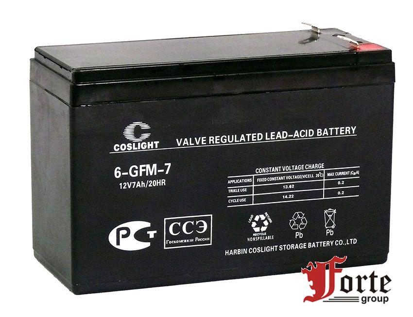 Аккумуляторы для ИБП COSLIGHT 6-GFM-7,0