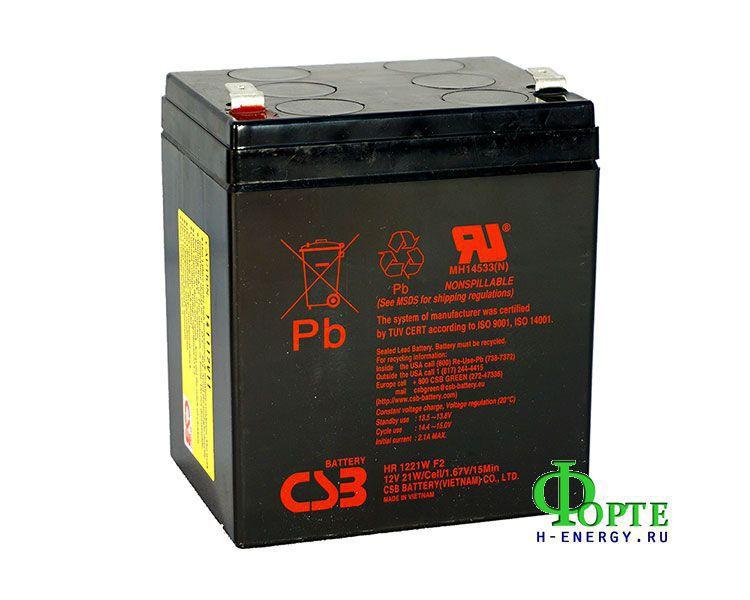 Аккумулятор для ИБП (UPS) CSB HR 1221W